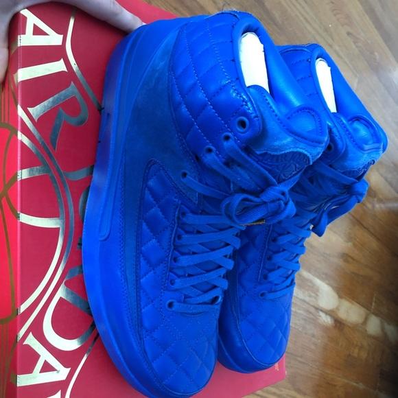 Air Jordan 2 Retro Don C Blue Size